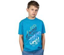 StreamT-Shirt Blau