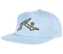 Cracked - Snapback Cap für Herren - Blau