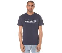 Script - T-Shirt - Blau