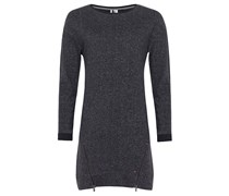 Sweat - Kleid für Damen - Schwarz