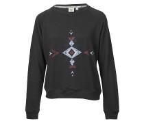 Sunset Love - Sweatshirt für Damen - Schwarz