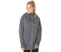 Bay Sweater Fleece - Kapuzenjacke für Damen - Grau