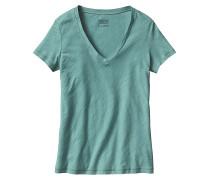 Necessity V-Neck - T-Shirt für Damen - Blau