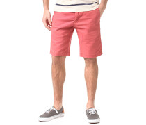 Sawyer - Chino Shorts für Herren - Rot