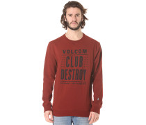 Stay Dog - Sweatshirt für Herren - Rot