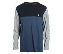 Blocked - Langarmshirt für Herren - Blau