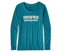 Pastel P-6 Logo L/S - Langarmshirt für Mädchen - Blau
