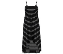 Jersey High/Low - Kleid für Damen - Schwarz