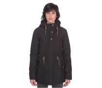 Wernan - Mantel für Damen - Schwarz