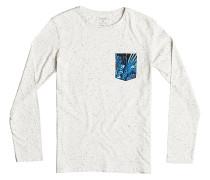 Loose Change - Langarmshirt für Jungs - Weiß