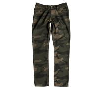 Printed Straight - Jeans für Herren - Camouflage