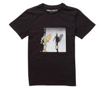 Reflexion-LB - T-Shirt für Jungs - Schwarz