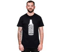 Save Water - T-Shirt für Herren - Schwarz