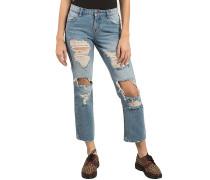 Straight & Destroy - Jeans für Damen - Blau