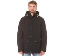 Wenson Winter - Mantel für Herren - Schwarz