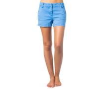Ibiza Vibes - Shorts für Damen - Blau