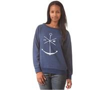 Indigo Crewneck - Sweatshirt für Damen - Blau