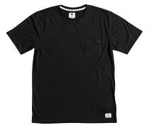 Basic Pocket 2 - T-Shirt für Herren - Schwarz