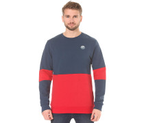 Fifty-Fifty Patch - Sweatshirt - Blau