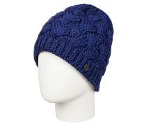 Love & Snow - Mütze für Damen - Blau
