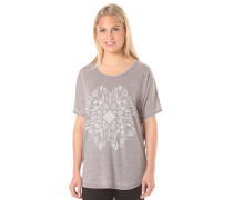 Batik - T-Shirt für Damen - Grau