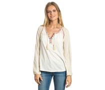 Melipilla - Langarmshirt für Damen - Weiß