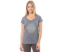Bobby Twist Paradise - T-Shirt für Damen - Blau