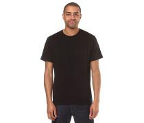 Basic Pocket - T-Shirt - Schwarz