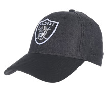 Team Stretch Canvas Oakland Raiders Cap - Schwarz