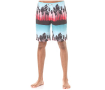 Palm Stripes Hot Tub - Boardshorts für Herren - Mehrfarbig