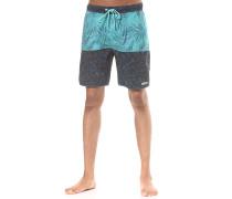 Watercolor Palms Hot Tub - Boardshorts für Herren - Blau