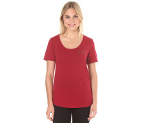 Scoop - T-Shirt für Damen - Rot