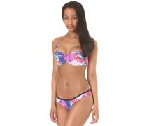 Print Bandeau - Bikini Set für Damen - Blau