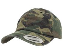 Low Profile Camo Washed Cap - Camouflage