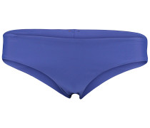 Solid Hipster - Bikini Hose für Damen - Blau