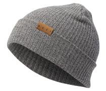 Fold Merino Mütze - Grau