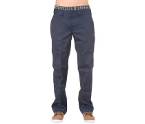 Straight Work - Stoffhose für Herren - Blau