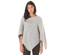 Poncho - Oberbekleidung für Damen - Grau