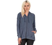 Moon Phase Fleece - Sweatshirt für Damen - Blau