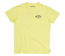 Arched - T-Shirt für Jungs - Gelb