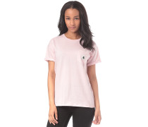 Carrie Pocket - T-Shirt - Pink