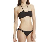 Bandeau - Bikini Set für Damen - Schwarz