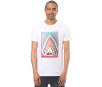 East Stacked - T-Shirt - Weiß