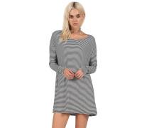 Lived In Stripe - Kleid für Damen - Schwarz