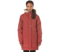 Doppio - Mantel für Damen - Rot