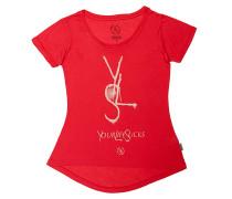 YLS Drop Back - T-Shirt für Damen - Rot