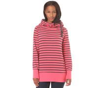 Yoda Stripes - Kapuzenpullover für Damen - Pink