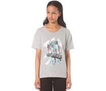 Tropical - T-Shirt für Damen - Grau