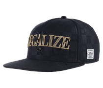Legalize It Snapback Cap - Schwarz