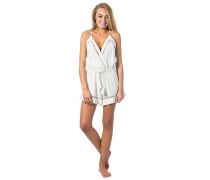Las Dalias Romper - Shorts für Damen - Weiß